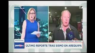 ENTREVISTA A MINDEF Y GRAL JORGE CHAVEZ    LATINA