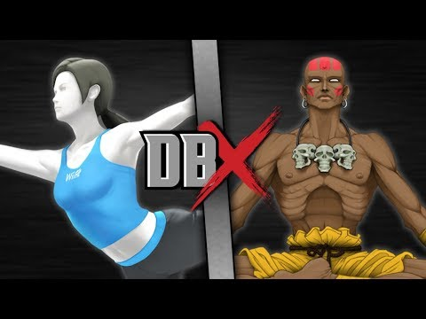 Wii Fit Trainer VS Dhalsim (Nintendo VS Street Fighter) | DBX