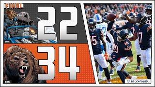 Bears 34 Lions 22: CODY PARKEY IS TRASH