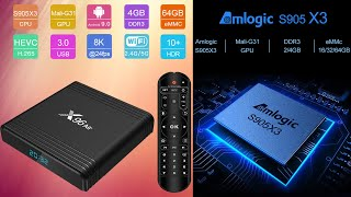 Новинка TV Box X96 Air на новом процессоре Amlogic S905X3 Unboxing