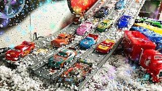 Гоночные машины Тачки 3 - Игры Гонки и Трасса - Lightning mcqueen Racing Sports Cars - Cars for Kids