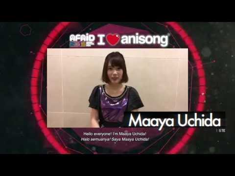 AFAID16 Maaya Uchida Message Video