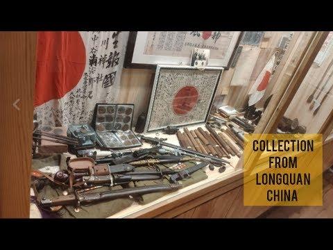 Shangqiu, Henan, China Ww2 Japanese Sword And Artifacts Collection Wow. 中国ww2日本コレクション
