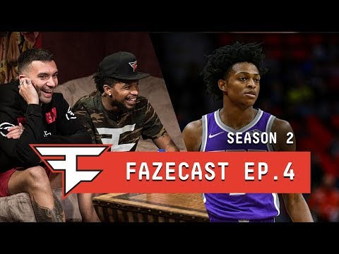 MEET THE NEW ROOMMATE! - #FaZeCast S2E4 feat. De'Aaron Fox