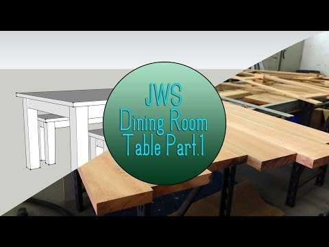 Build a Dining Room Table Set - Part 1 (The Top)