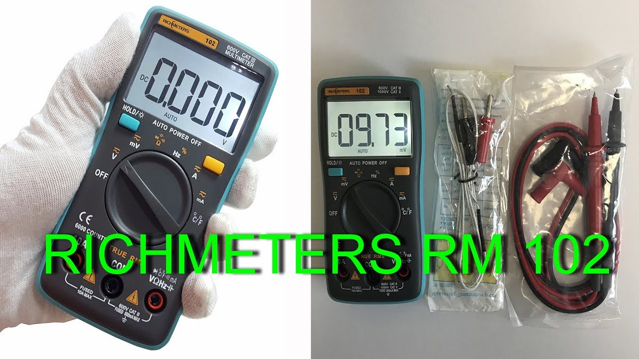 Мультиметр Hyelec MS8232 - обзор и тесты. - YouTube
