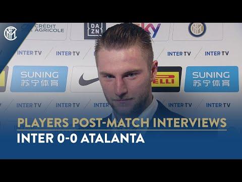INTER 0-0 ATALANTA | MILAN SKRINIAR INTERVIEW: 'We deserved to win'