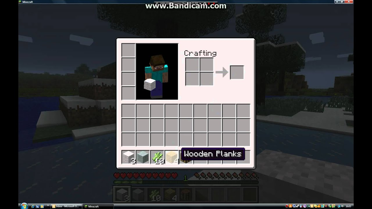 Hoe Maak Je Een Bed In Minecraft YouTube