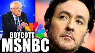 John Cusack Calls For A Boycott Of Msnbc Due To Brazen Anti Bernie Bias