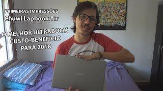 Chuwi Lapbook Air #02 - Ultrabook da China BOM E BARATO!