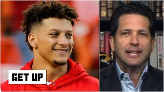 Patrick Mahomes' $500M Chiefs contract is actually a team-friendly deal - Adam Schefter | Get Up