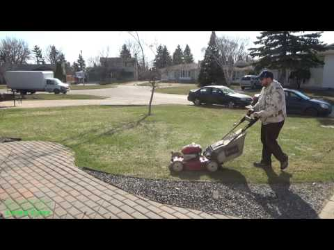 Living the Lawn Care Life Style #8 - Spring Clean Up/Power Rake
