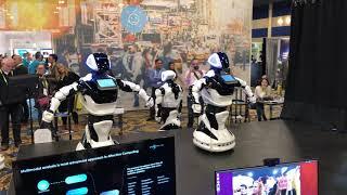 Этот робот должен был танцевать. Promobot до аварии с Tesla