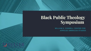 Black Public Theology and Race In America - Friday Morning