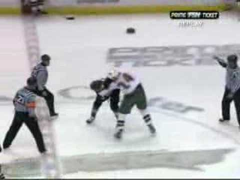 Brad May vs. Derek Boogaard 10/14/07
