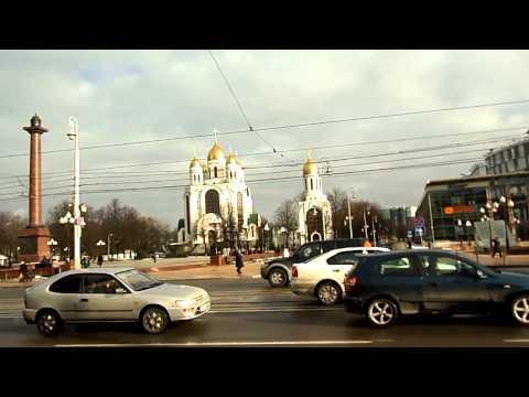 Калининград В центре города на площади Победы