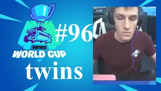 twins Fortnite Solo World Cup Highlight!!!
