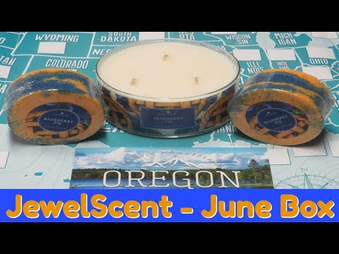 JewelScent Jewels Across America Subscription Box - June 2018!