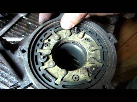 VGT turbo vane movement after cleaning Audi a4 1.9 TDI 81kW AFN