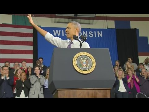 President visits Milwaukee to speak about health care signups