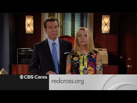 CBS Cares  Peter Bergman and Melody Thomas Scott on Hurricane Harvey Recovery