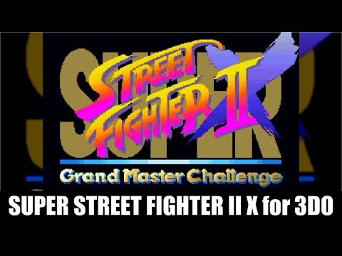 Ken(ケン)→Ryu(リュウ) - SUPER STREET FIGHTER II X for 3DO