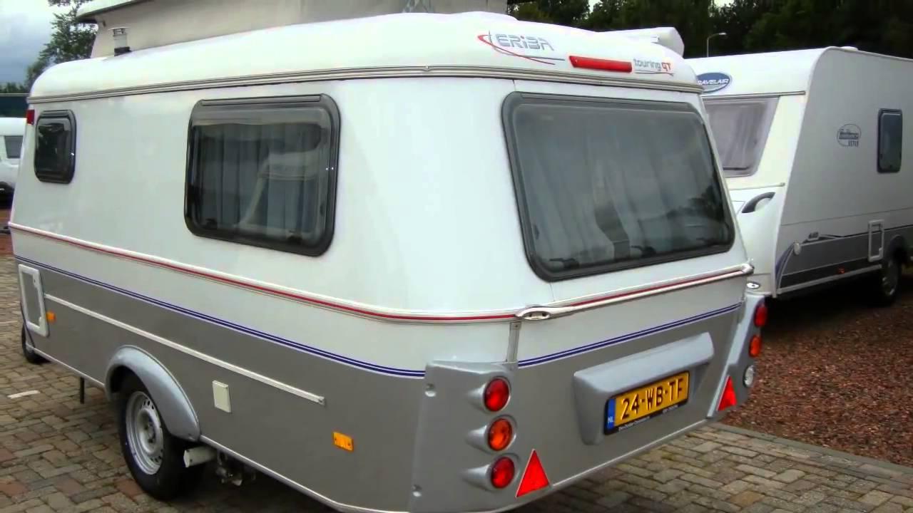 caravan te koop eriba touring triton 420 gt mover youtube. Black Bedroom Furniture Sets. Home Design Ideas