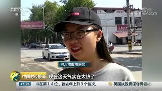 [中国财经报道]河北邯郸:高温橙色预警 多地达39℃| CCTV财经