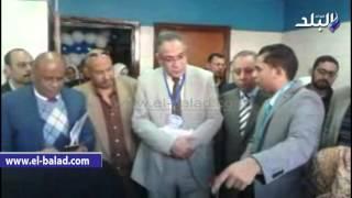 بالفيديو والصور.. افتتاح عيادة الفتحات الصناعية بمعهد جنوب مصر للأورام
