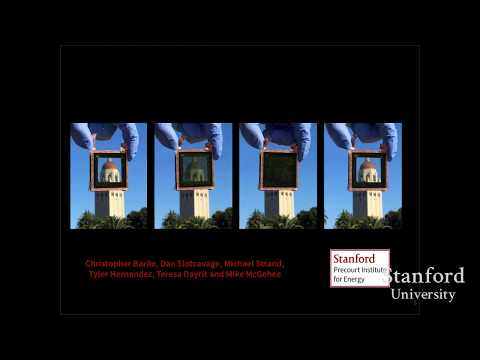 Stanford Webinar- Smart Glass-How Metal Ions May Revolutionize Tinting and Energy Efficiency