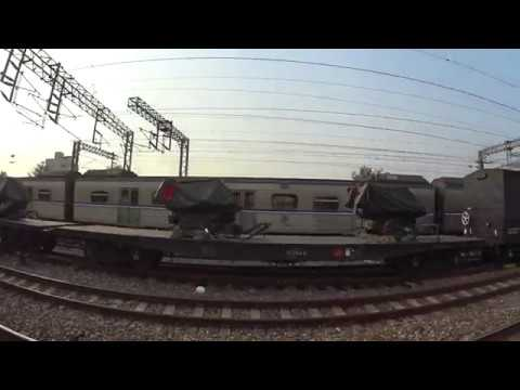 Freight Train with some Military equipment Taiwan