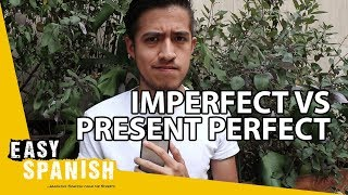 IMPERFECT vs. PRESENT PERFECT | Super Easy Spanish 15
