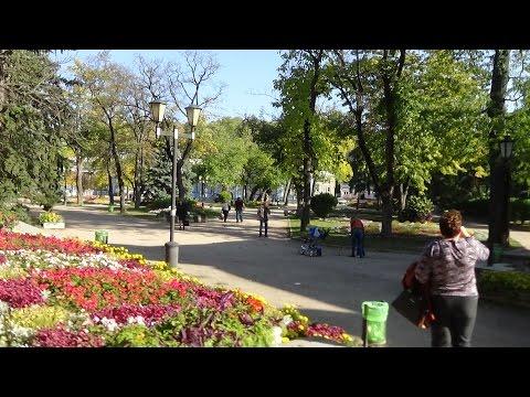 Пятигорск  - Парк Цветник Прогулка по центру города.