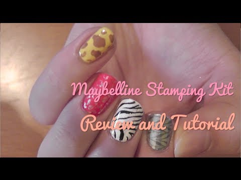 Maybelline express nail art stamping kit review and tutorial youtube maybelline express nail art stamping kit review and tutorial prinsesfo Gallery