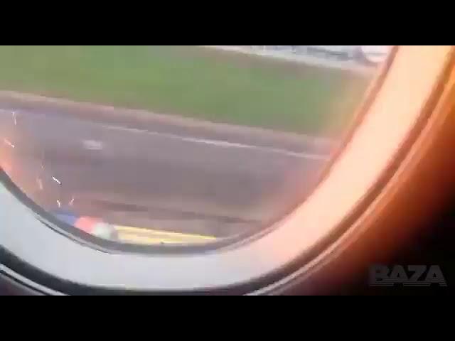 Посадка в Шереметьево глазами пассажиров