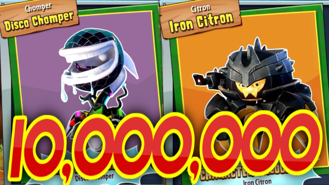 Plants Vs Zombies Garden Warfare 2 10 Million Coins
