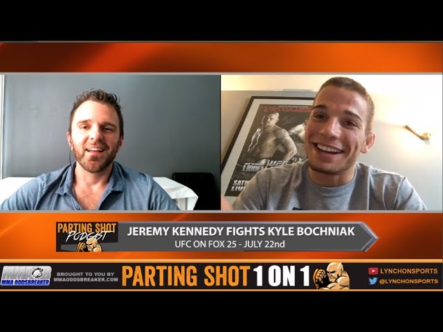 UFC on FOX 25's Jeremy Kennedy talks Kyle Bochniak & run in with Cody Garbrandt in Vegas