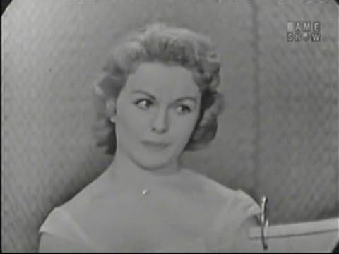 What's My Line? - Jeanne Crain; Richard Boone [panel] (Apr 5, 1959)