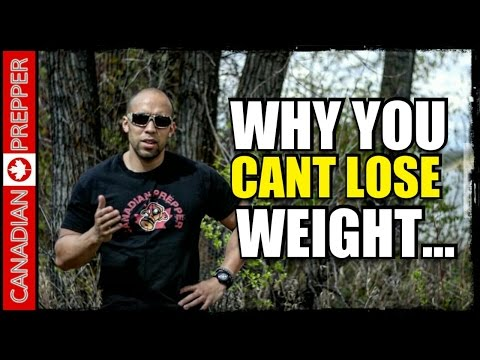 Why You Can't Lose Weight: Sedentary Vs Active Lifestyle