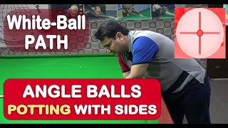 Gambar cover White-Ball Path with Angled Potting with Sides By Arshad Qureshi Snooker Training / Coaching 2020!