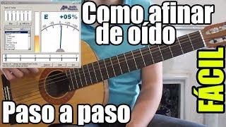 Clases de guitarra para principiantes #4: Afinar de oído, sin afinador, método fácil y rápido