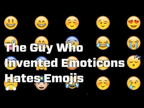 Guy Who Invented Emoticons Hates Emojis