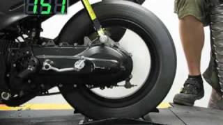 Stage6 Development Dragracing-Tyre (Reifen) von Heidenau DynoJet ® Highspeed-Test