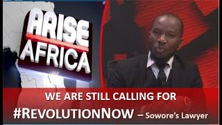 RevolutionNow The Government invented a fictional case of treason - Sowore39s Lawyer
