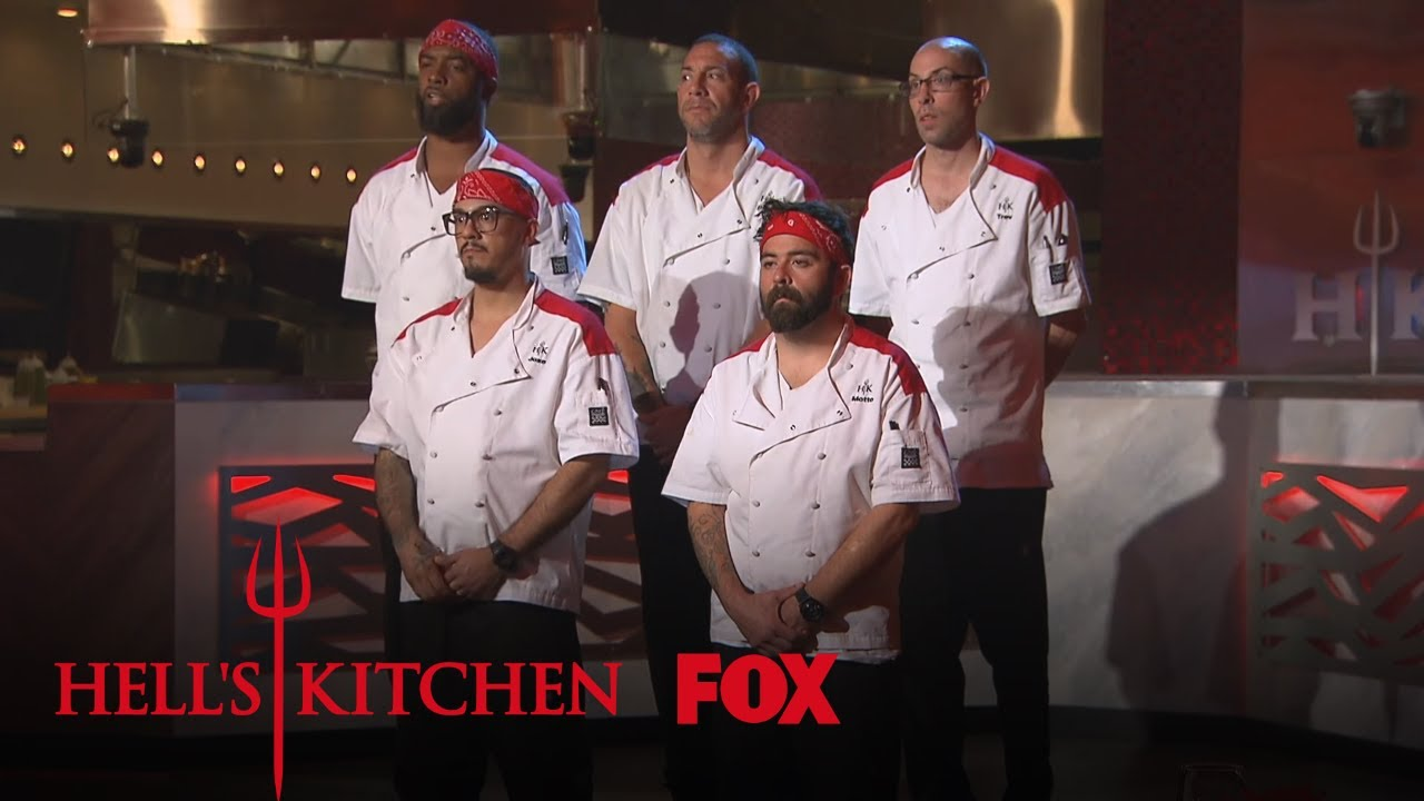 The Red Team Expresses Their Frustrations Season 18 Ep 9 Hell S Kitchen