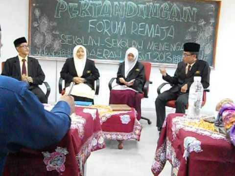 forum remaja peringkat daerah-SM IMTIAZ BESUT