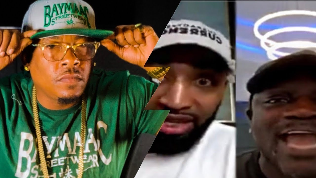 "Spider Loc Reacts "" Akon & Mysonne Discus Tacoochie's Snitchuation on Live"