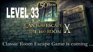 Can You Escape The 100 room X level 33 Walkthrough