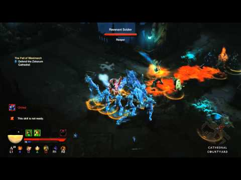 Diablo III Reaper of Souls: Ultimate Evil Edition - coming soon to PS4