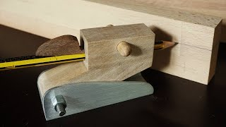 Hilfswerkzeuge selber bauen: Der Höhenreißer - DIY scribing block